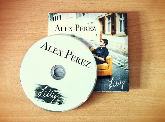 Alex Perez - Lilly (CD package)